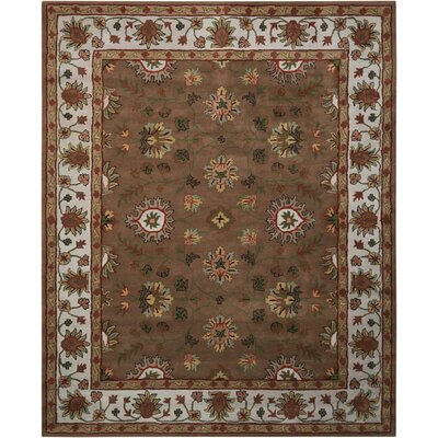 Willet Hand-Tufted Brown Area Rug