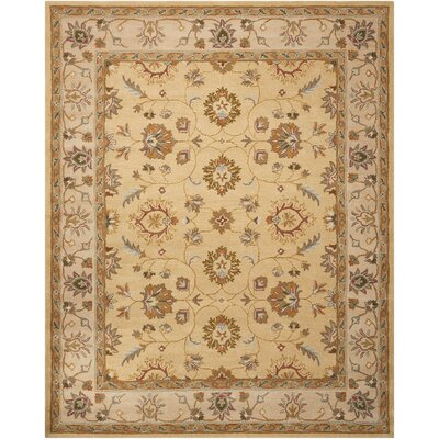 Willet Hand-Tufted Gold Area Rug