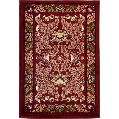 Wheatland Red Area Rug Rug Size: 5 x 8