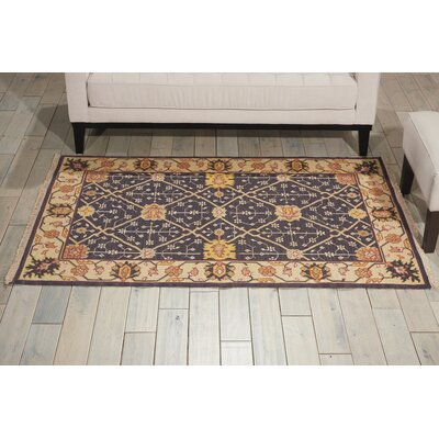 Cullen Handmade Indigo Area Rug Rug Size: Rectangle 710 x 910