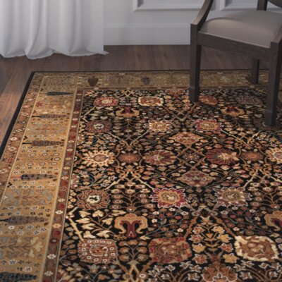 Edwards Black/Brown Area Rug