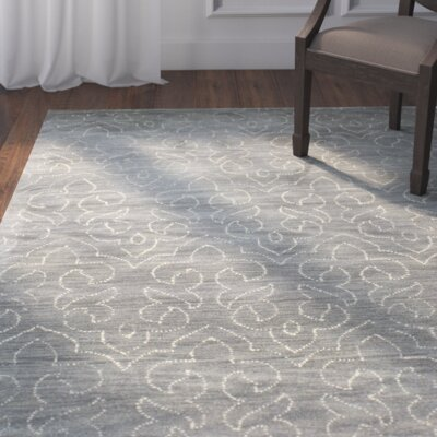 Crestshire Hand-Tufted Grey Area Rug