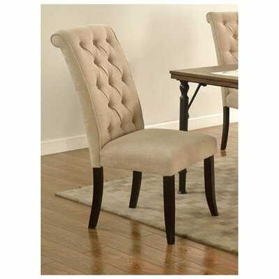 Lapeer Side Chair Upholstery: Beige
