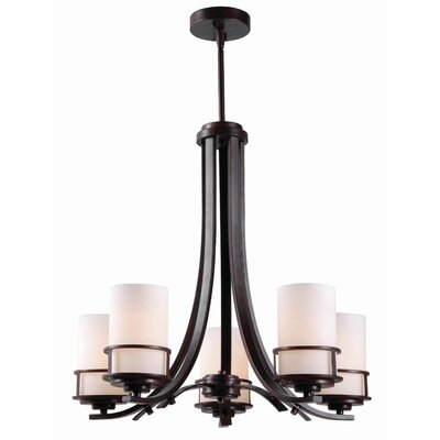 Layfield 5-Light Shaded Chandelier