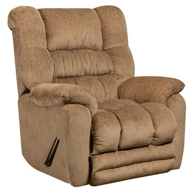 Lawnton Contemporary Microfiber Rocker Recliner Upholstery: Fawn
