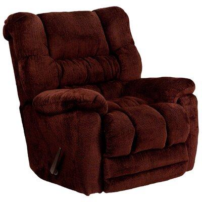 Lawnton Contemporary Microfiber Rocker Recliner Upholstery: Merlot