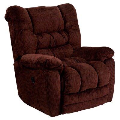 Lawnton Power Recliner Upholstery: Merlot