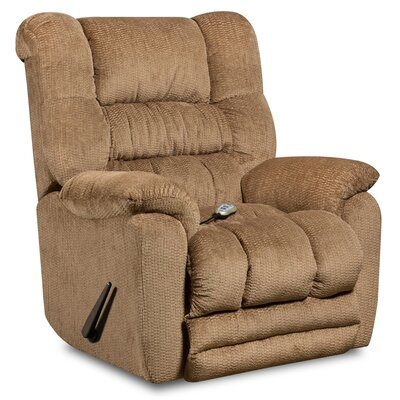 Lawnton Manual Rocker Recliner Upholstery: Fawn