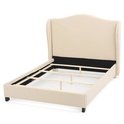 Lansford Upholstered Platform Bed Size: King