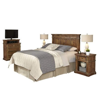Landisville Panel 4 Piece Bedroom Set Size: King/California King