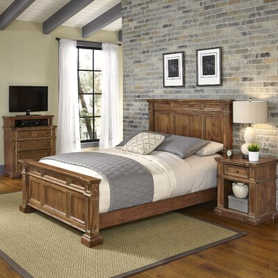 Landisville Panel 3 Piece Bedroom Set Size: King