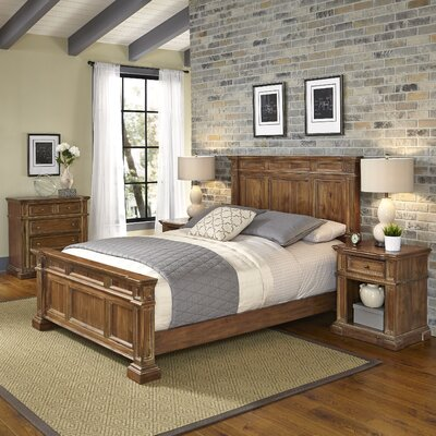 Landisville Panel 4 Piece Bedroom Set Size: King