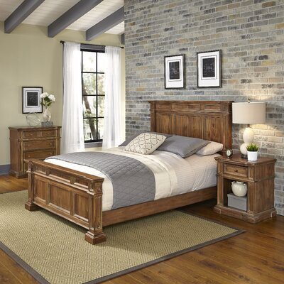Landisville Panel 3 Piece Bedroom Set