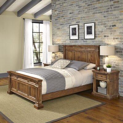 Landisville Panel 3 Piece Bedroom Set