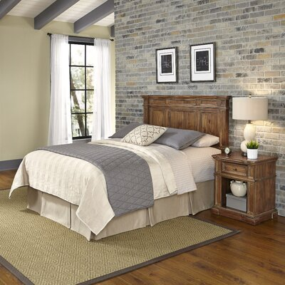 Landisville Platfrom 2 Piece Bedroom Set Size: King/California King