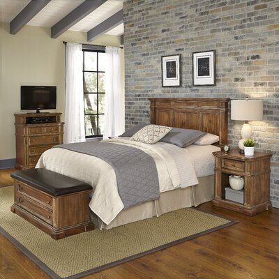 Landisville Platfrom 4 Piece Bedroom Set Size: Queen/Full