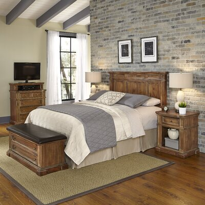 Landisville Platfrom 5 Piece Bedroom Set Size: King/California King