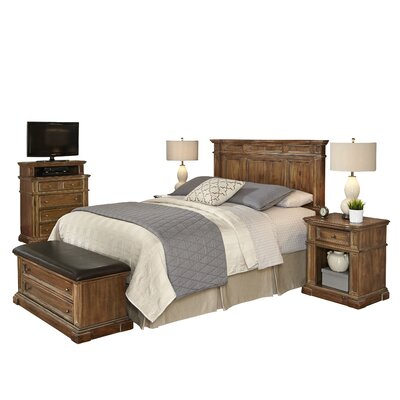 Landisville Platfrom 5 Piece Bedroom Set Size: Queen/Full