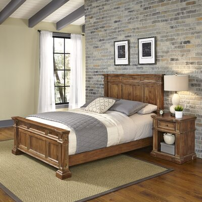Landisville Panel 2 Piece Bedroom Set