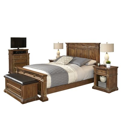 Landisville Panel 5 Piece Bedroom Set Size: King