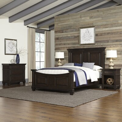 Larksville Panel 4 Piece Bedroom Set Size: King