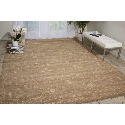 Hillsboro Taupe Area Rug Rug Size: Runner 25 x 10
