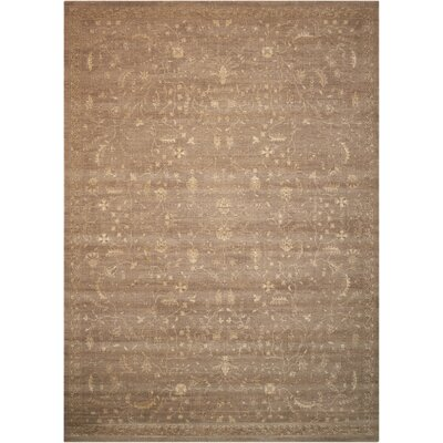 Hillsboro Taupe Area Rug Rug Size: Rectangle 56 x 8