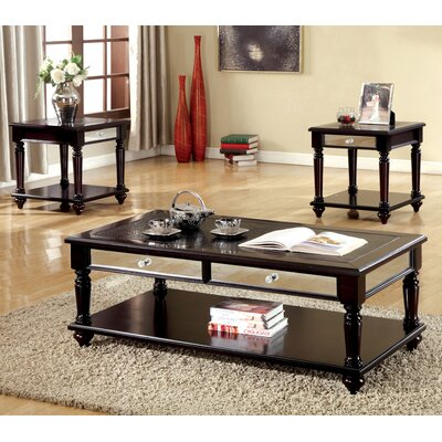 Rushford 3 Piece Coffee Table Set