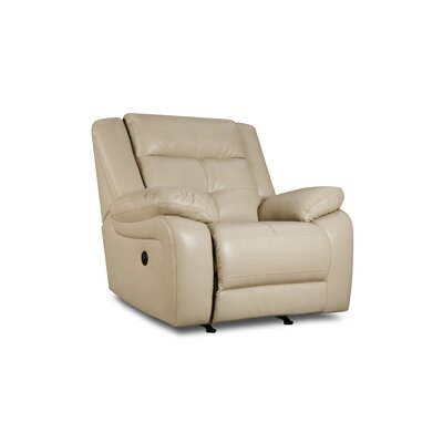 Obryan Recliner by Simmons Upholstery Type: Power