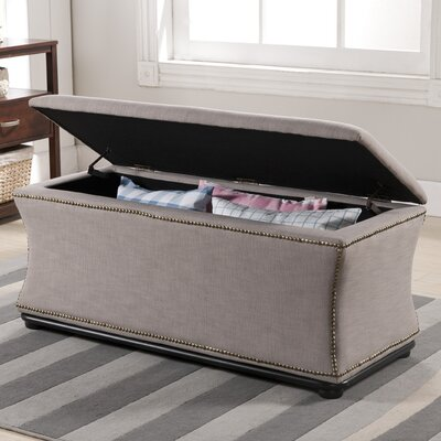 Madeleine Fabric Storage Bedroom Bench