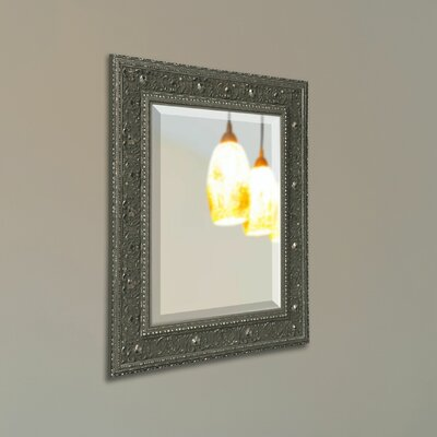 Square Wall Mirror Finish: Silver