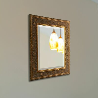 Square Wall Mirror Finish: Gold