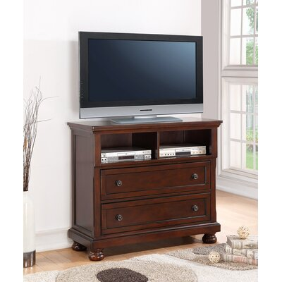 Elkland 45 TV Stand Color: Cherry