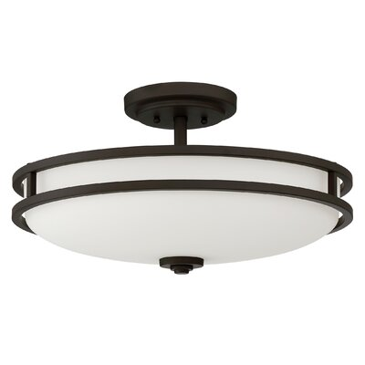 Ellington 4-Light Semi Flush Mount Finish: Old Bronze