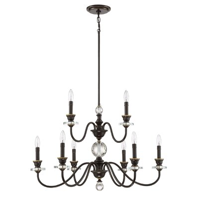 Ellisurg 9-Light Candle-Style Chandelier