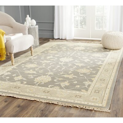 Harpersfield Gray Area Rug Rug Size: Rectangle 4 X 6