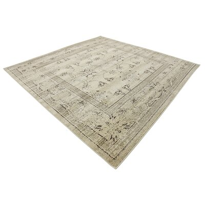Foxhill Multi-Colored Area Rug Rug Size: Square 8