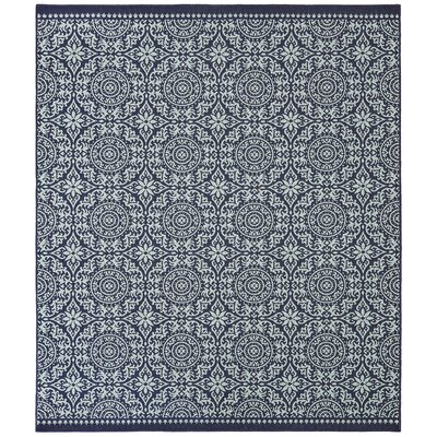Haddam Navy Indoor/Outdoor Area Rug Rug Size: 8' x 10'