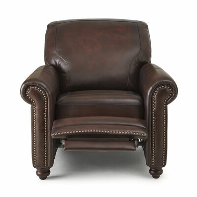 Wilmore Leather Manual Recliner