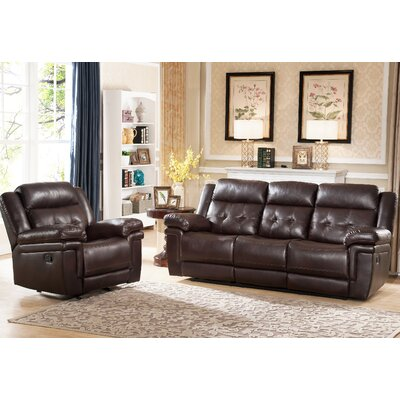 Farrell Tufted Sofa and Chair Set