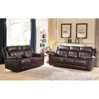 Farrell Tufted Sofa and Loveseat Set