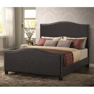 Affonso Upholstered Panel Bed Size: King