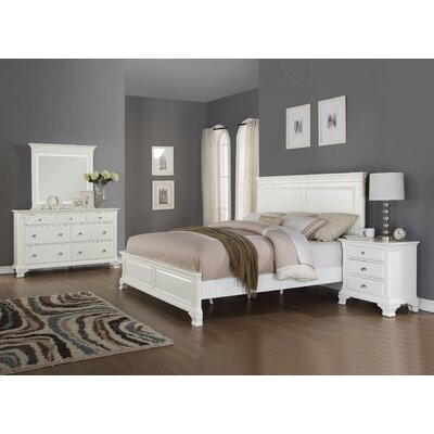 Fellsburg Panel 4 Piece Bedroom Set Size: King