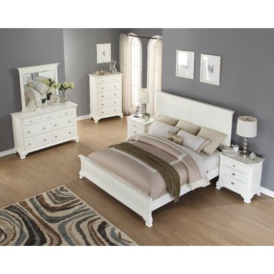 Fellsburg Panel 5 Piece Bedroom Set Size: King