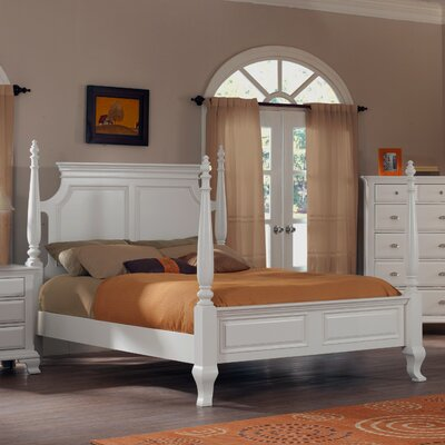 Fellsburg Storage Four poster Bed Size: King