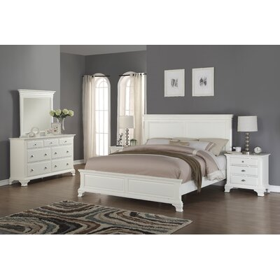 Fellsburg Panel 5 Piece Bedroom Set Size: Queen
