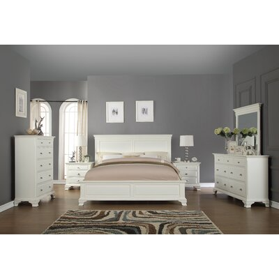Fellsburg Platform 6 Piece Bedroom Set Size: King