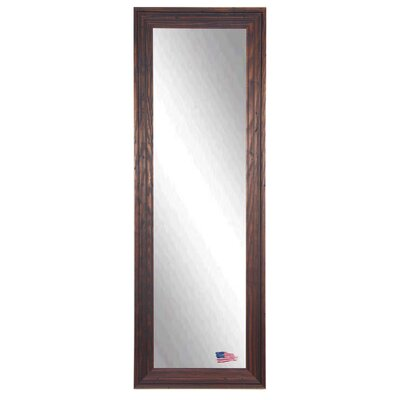 Barnwood Brown Full Length Body Mirror Size: 64.25 H x 26.25 W x 0.75 D