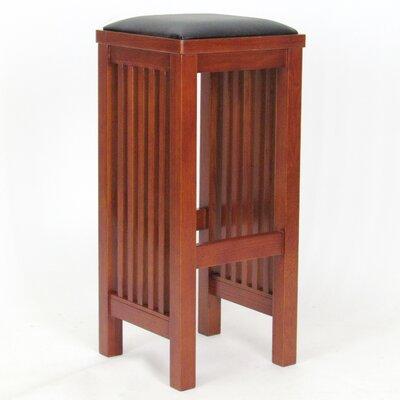 Folcroft 30 Bar Stool Upholstery: No Back