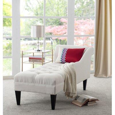 Jeppesen Chaise Lounge Upholstery: Star White